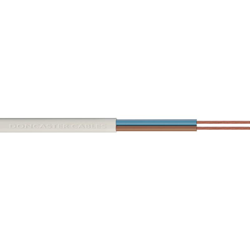 Doncaster Cables 2 Core Round Flex Cable (2182Y)