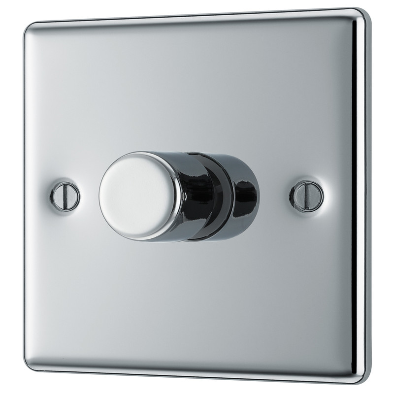 BG Polished Chrome Dimmer Switch