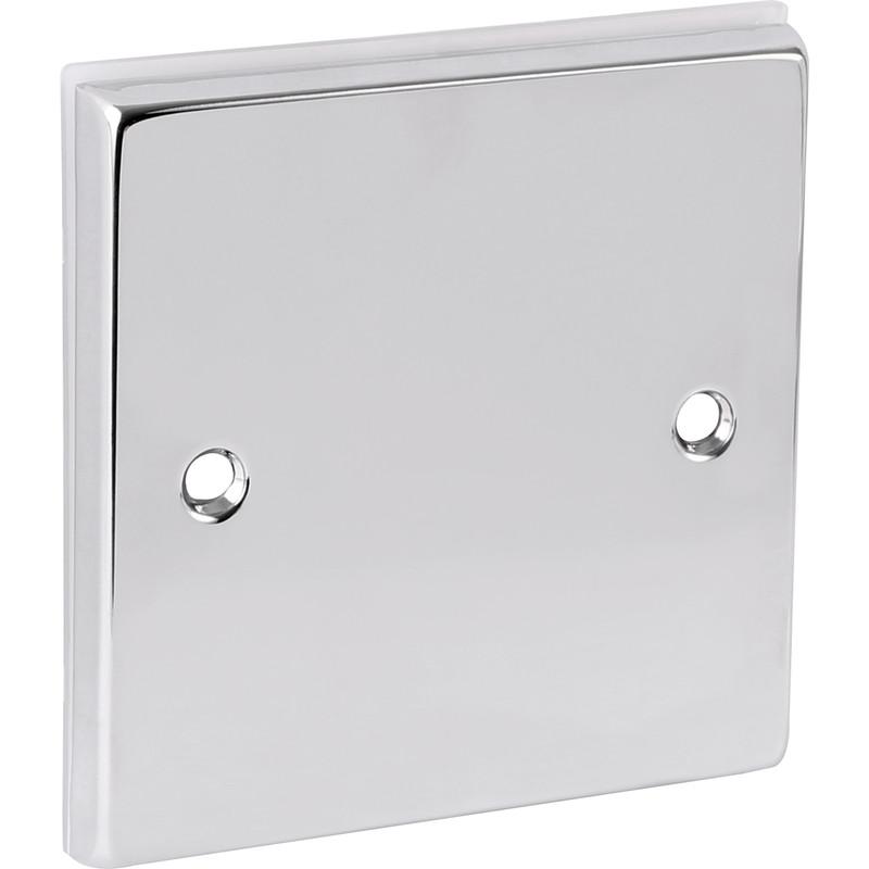 Chrome Blank Plate