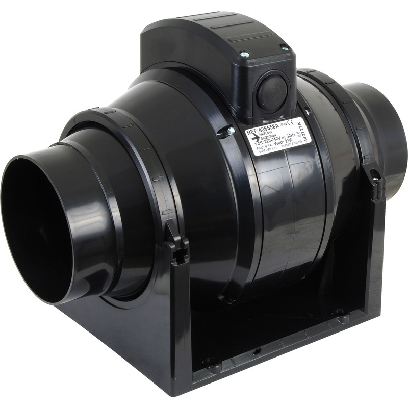Airvent 100mm Mixed Flow Inline Extractor Fan