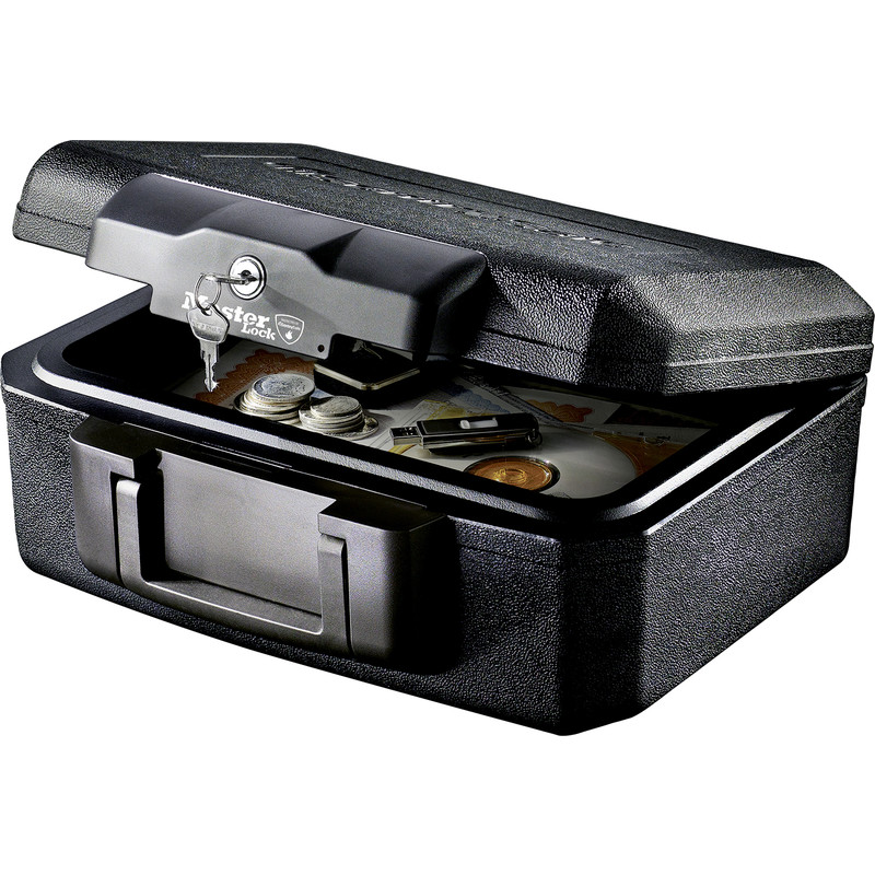 Master Lock Fire Resistant Small Security Chest