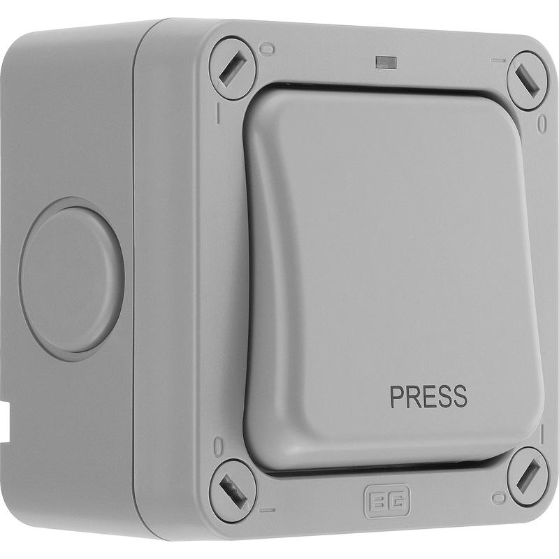BG IP66 20AX Switch PRESS