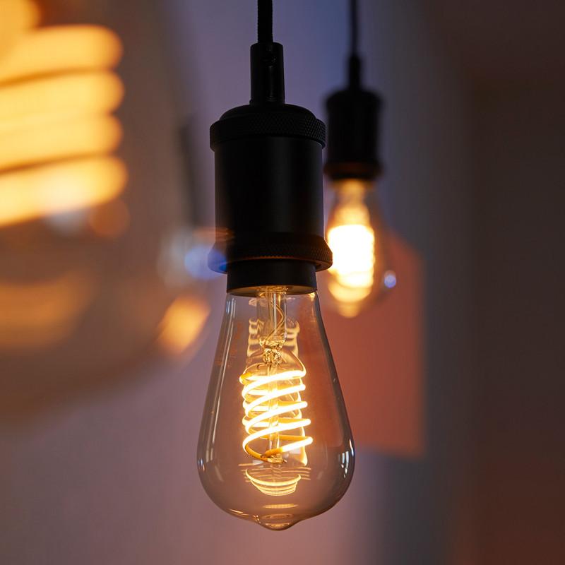 Philips Hue LED Filament A60 Lamp