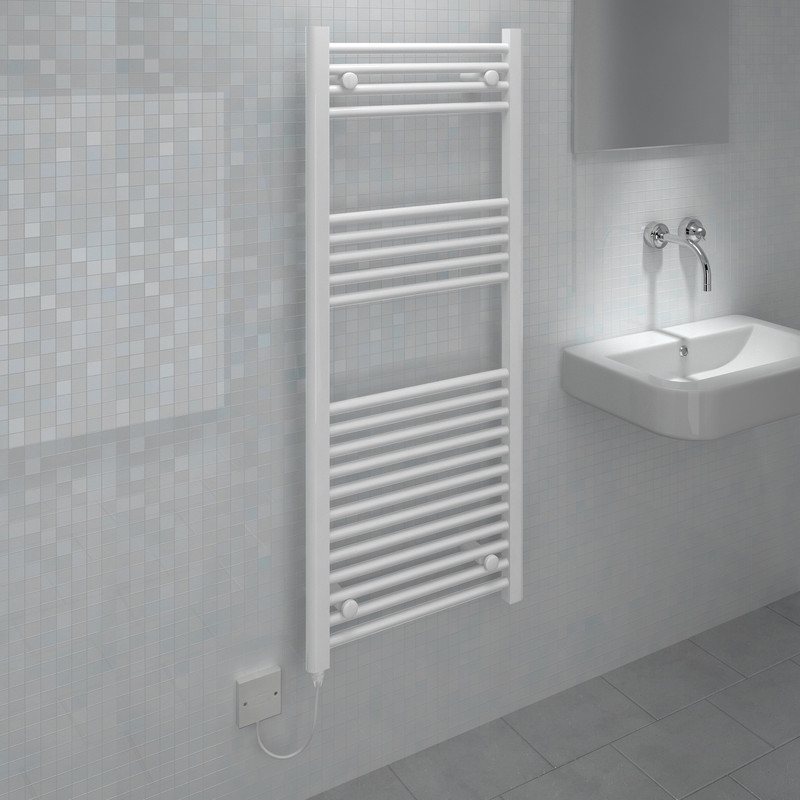 Kudox Electric Low Surface Temperature (LST) Prefilled Flat Towel Radiator
