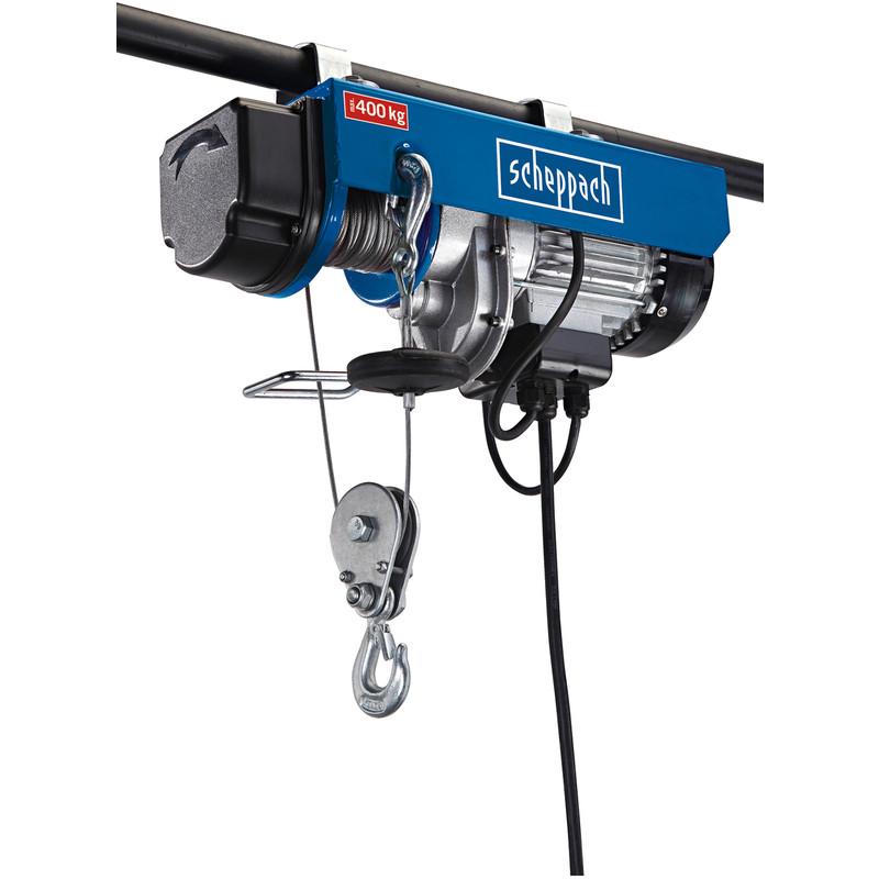 Scheppach HRS400 780W 400kg Electric Hoist