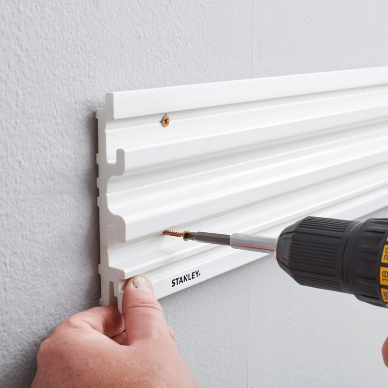 Stanley Track Wall System 4ft Rail