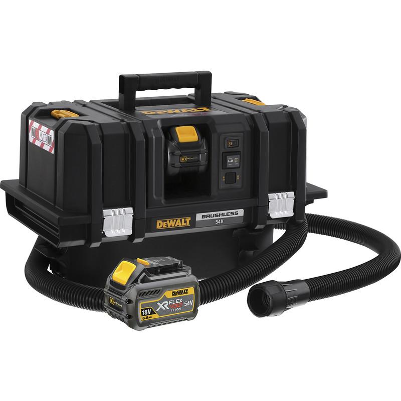 Dewalt Dust Extractor >> Dewalt Dcv586 54v Xr Flexvolt M Class Dust Extractor 2 X 6 0ah