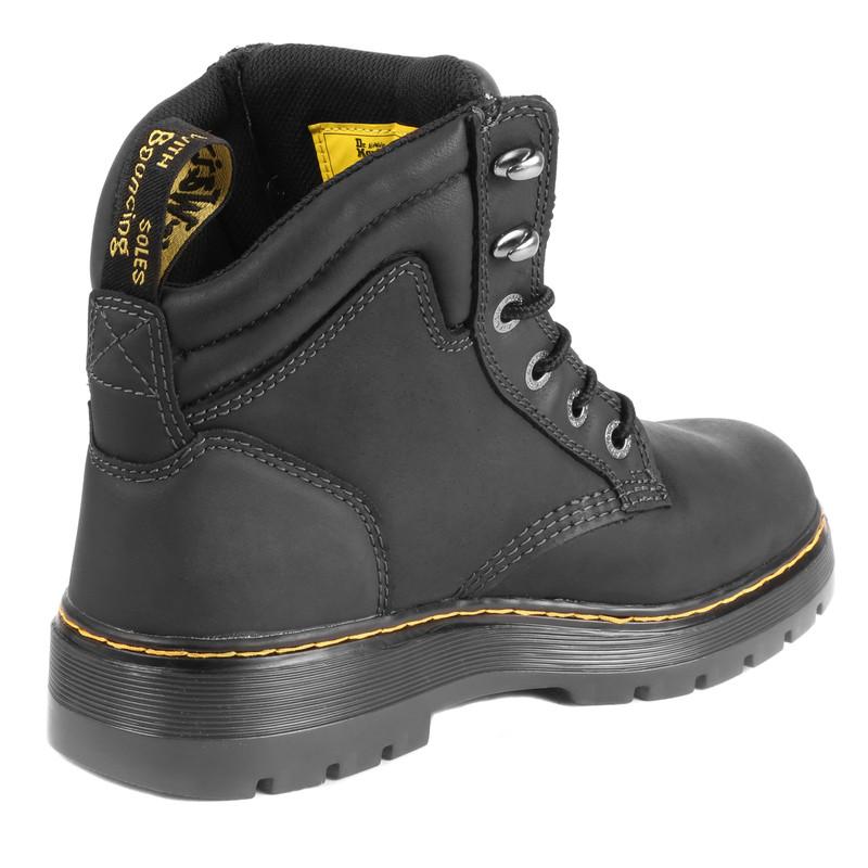 yksityiskohdat paras halpa kuuma tuote Dr Martens Brace Safety Boots Black Size 11