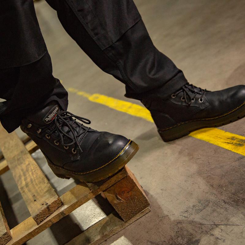 Dr Martens Batten Safety Boots Black