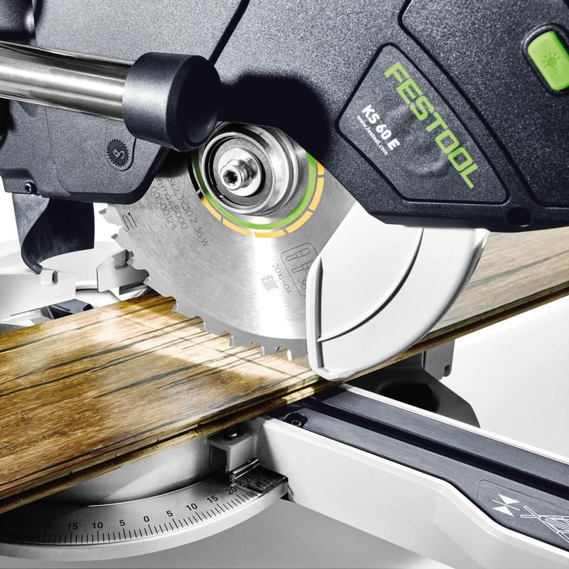 Festool KS 60 E 216mm Sliding Compound Mitre Saw