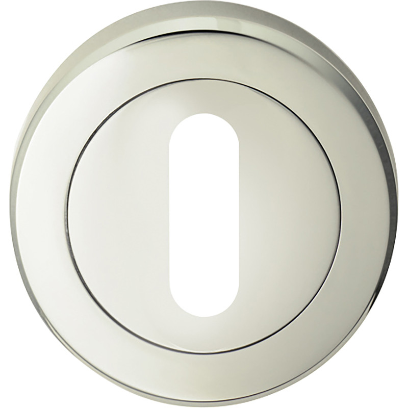 Serozzetta Lock Profile Escutcheon On Round Rose