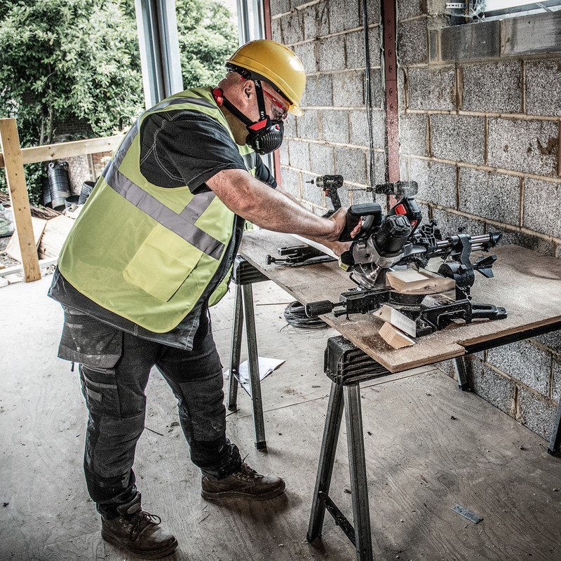 Trend T18S/MS184 18V Cordless 184mm Mitre Saw