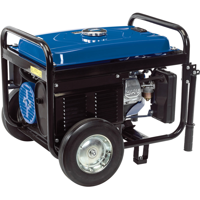 Draper 2.5KVA/2500W Petrol Generator with Wheels