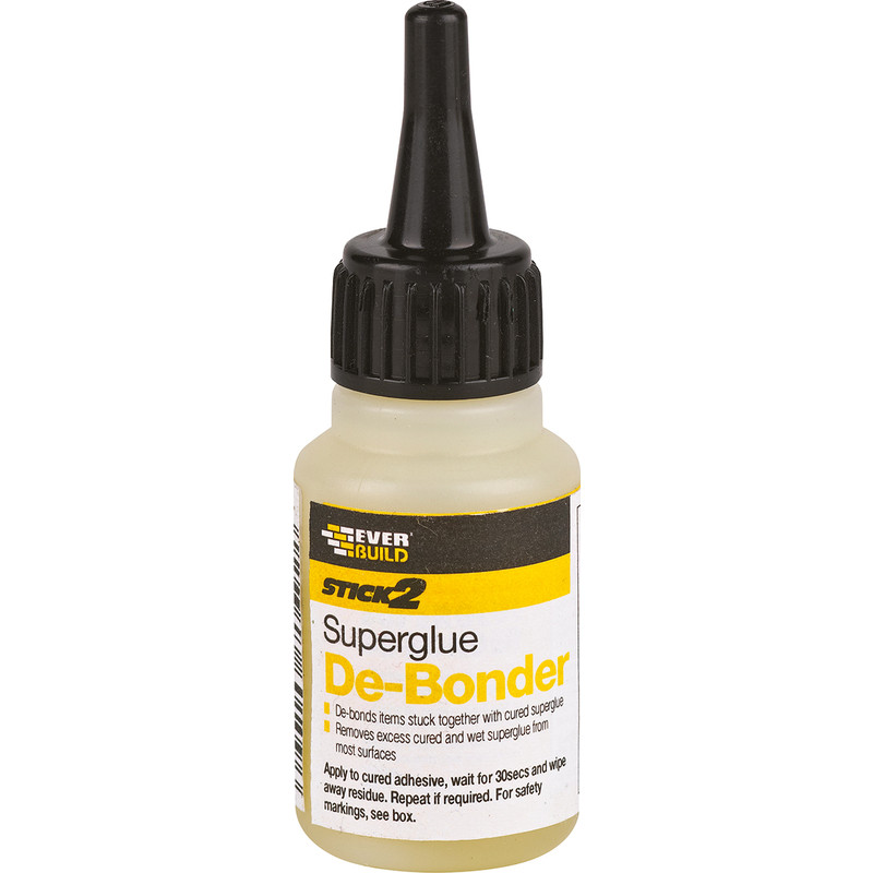 Super Glue De-bonder