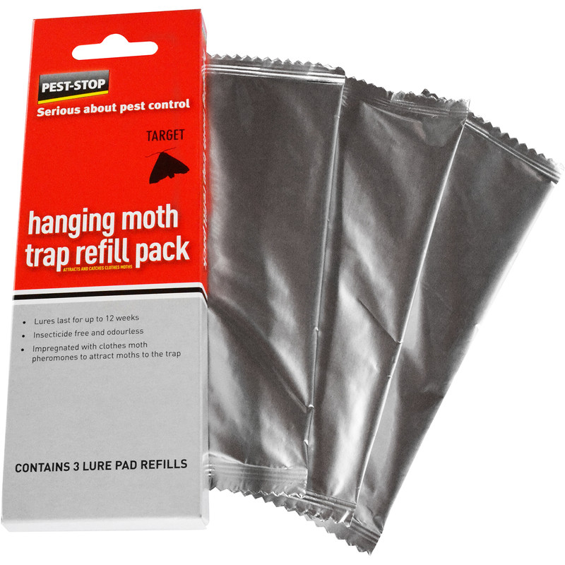 Hanging Moth Trap Refill Pack