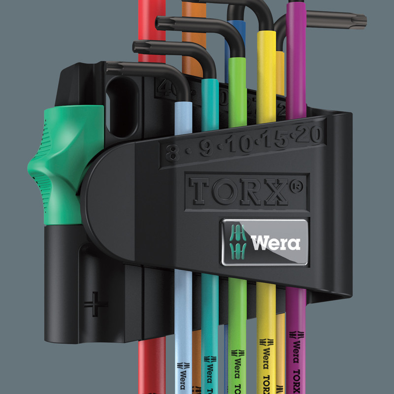 Wera Stubby TORX Key Set