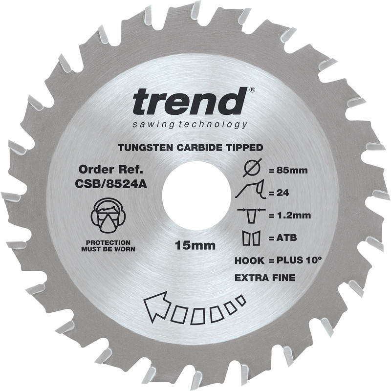 Trend Craftpro Mini Sawblade