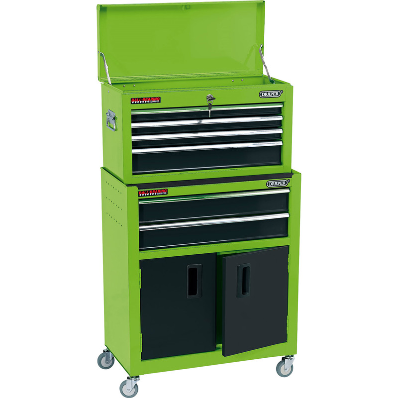 Draper Combined Roller Cabinet and Tool Chest 6 Drawer