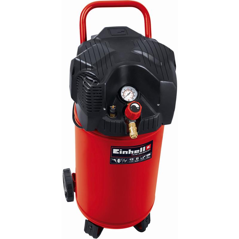 Einhell TC-AC 200/30/8 30L 1.5Hp Upright Oil Free Air Compressor