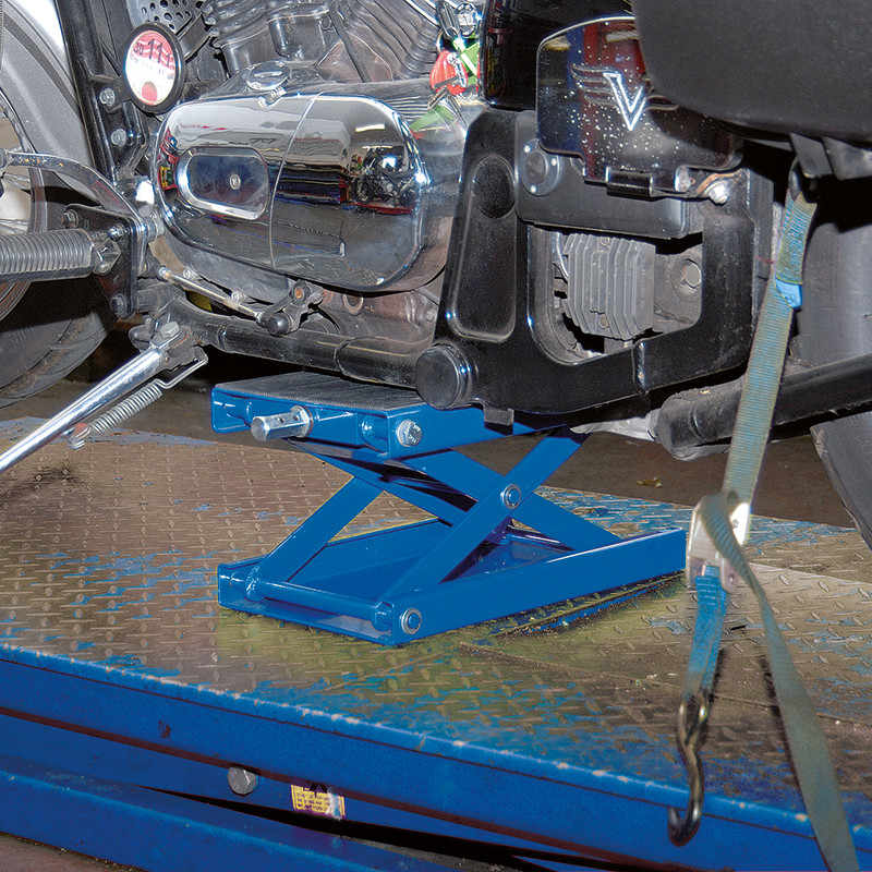 Draper Motorcycle Scissor Stand with Pad