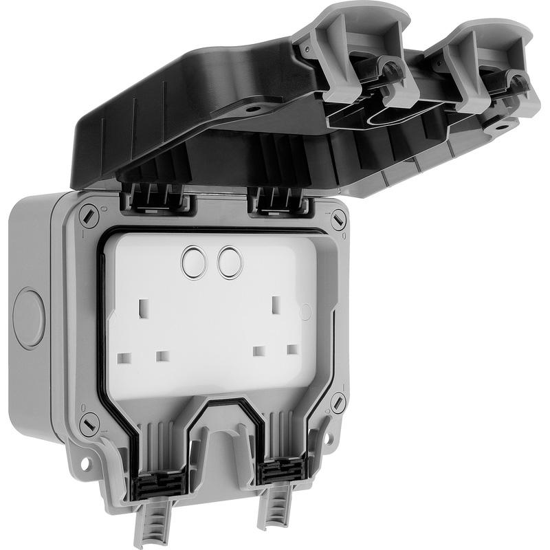 BG Storm Smart Control Weatherproof Socket IP66