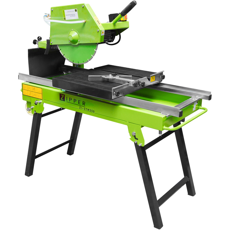 Zipper STM350 2000W 350mm Wet Stone Saw