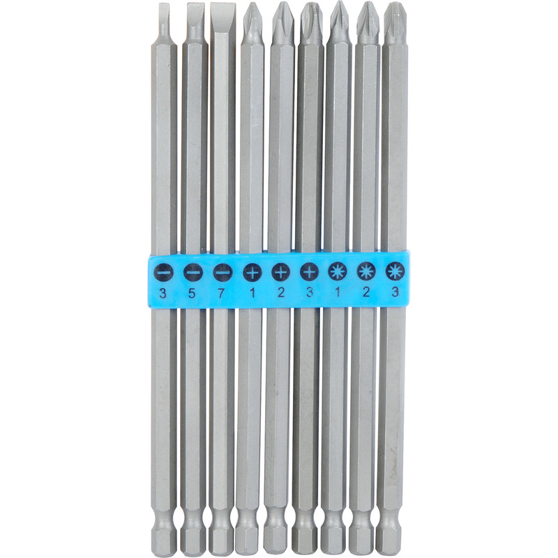 Extra Long Screwdriver Bit Set