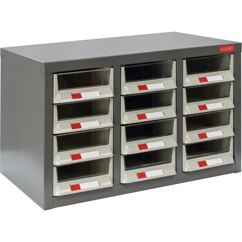 Small Parts Steel Cabinet without Doors