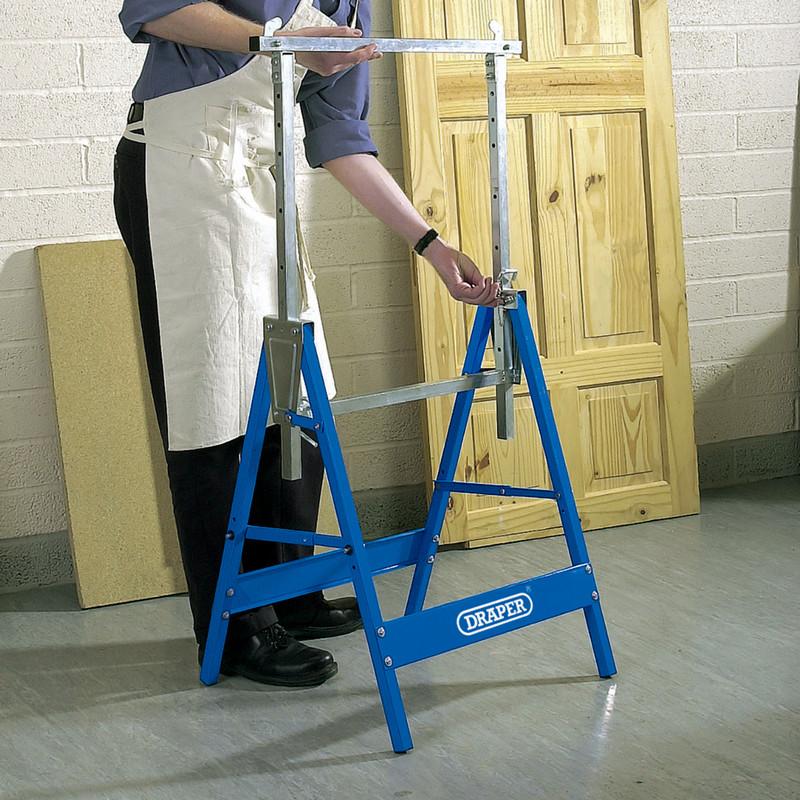 Draper Adjustable Metal Trestle