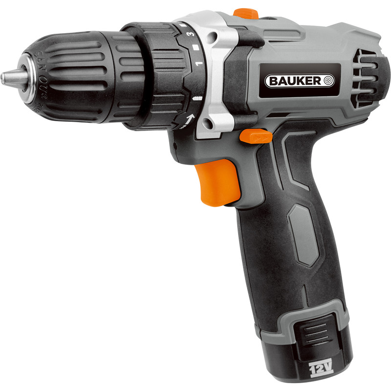 Bauker 12V Cordless Drill Driver