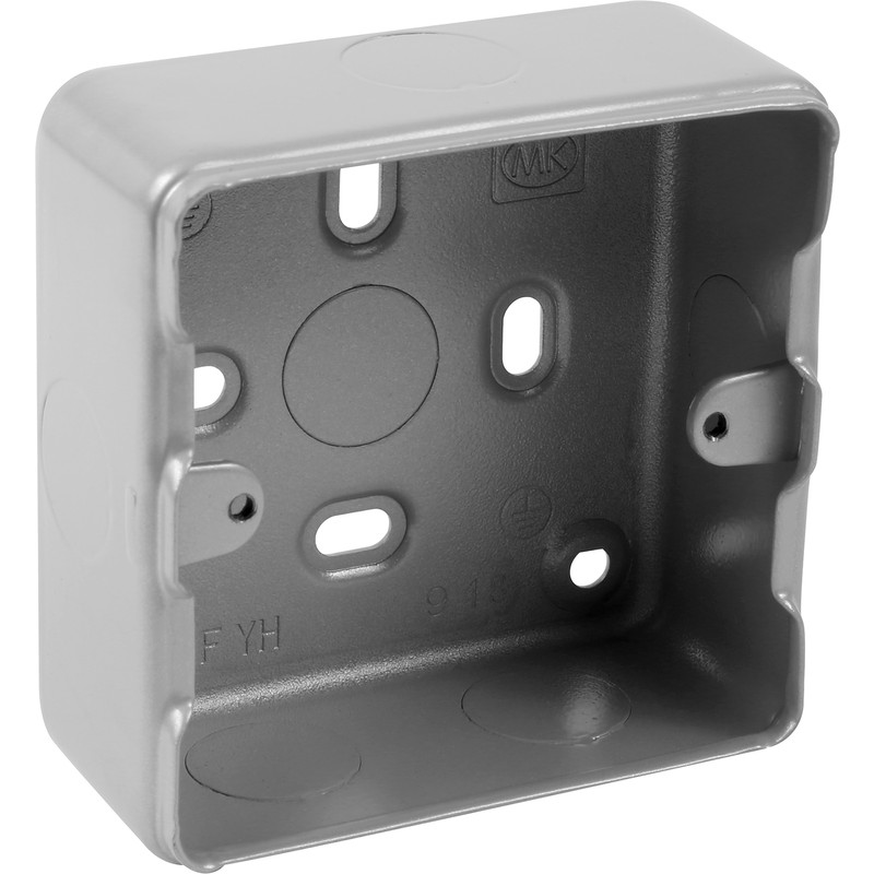 MK Grid Metal Surface Back Box