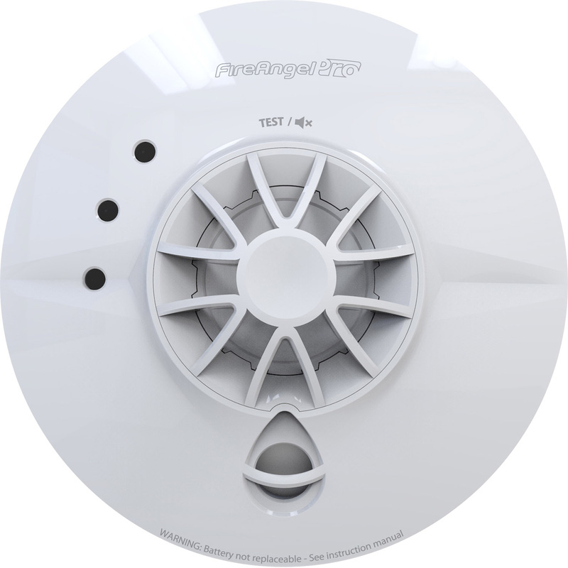 FireAngel Pro Connected Wireless Mains Interlink Heat Alarm