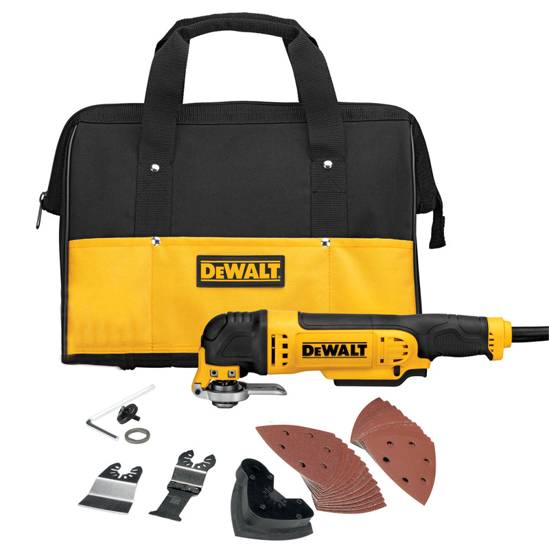DeWalt 300W Oscillating Tool with Bag