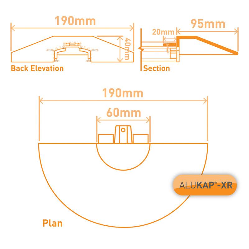 Alukap-XR Pinnacle Cap