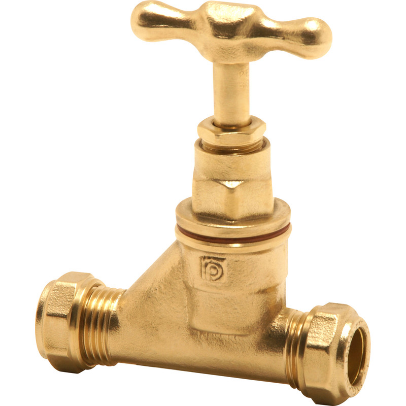Pegler Brass Stopcock