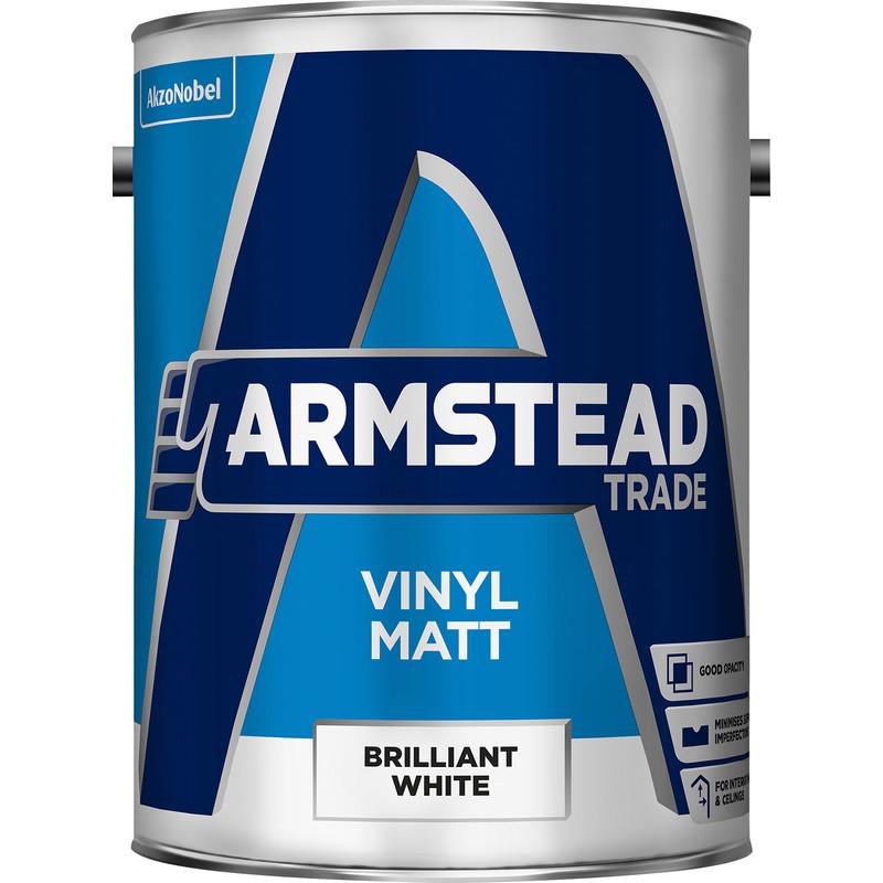 Armstead Trade Vinyl Matt Brilliant White