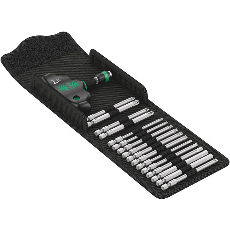 Wera Kraftform Kompakt T-Handle Screwdriver & Bit Set