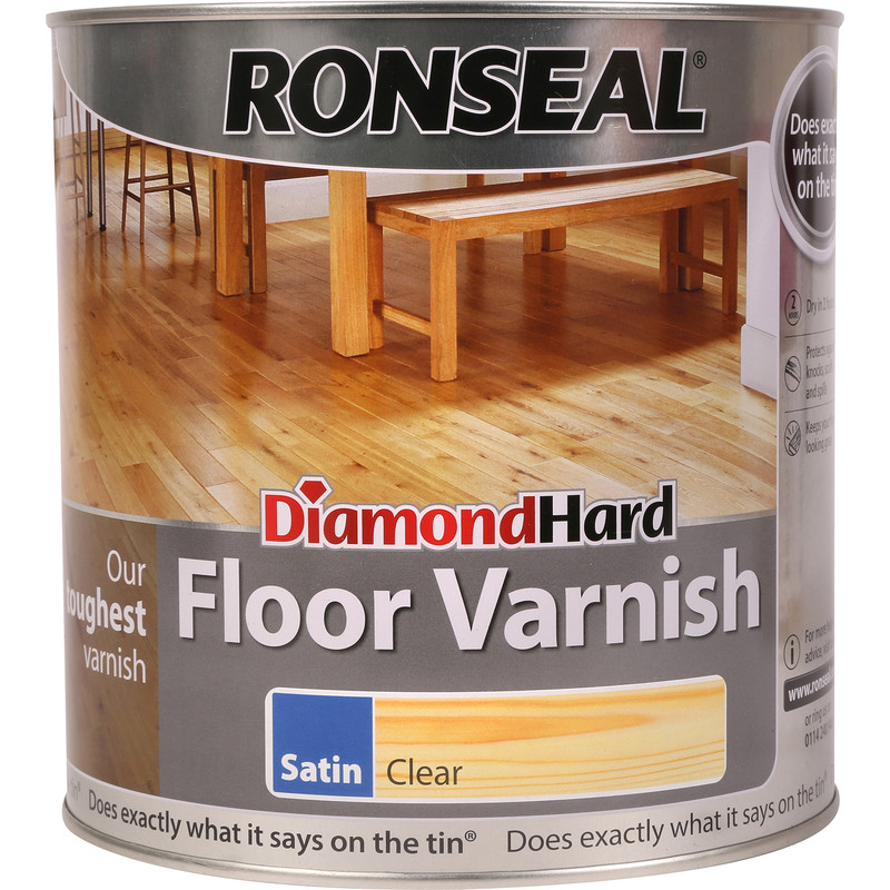 Ronseal Diamond Hard Floor Varnish 2.5L