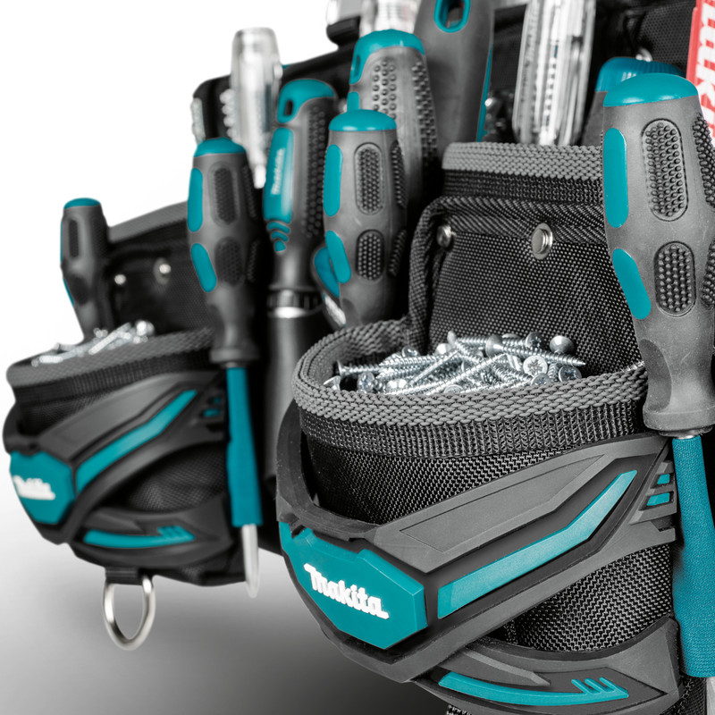Makita 3 Pouch Tool Belt Set