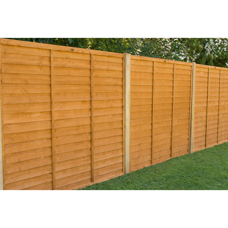 Forest Garden Overlap Fence Panel - 5ft