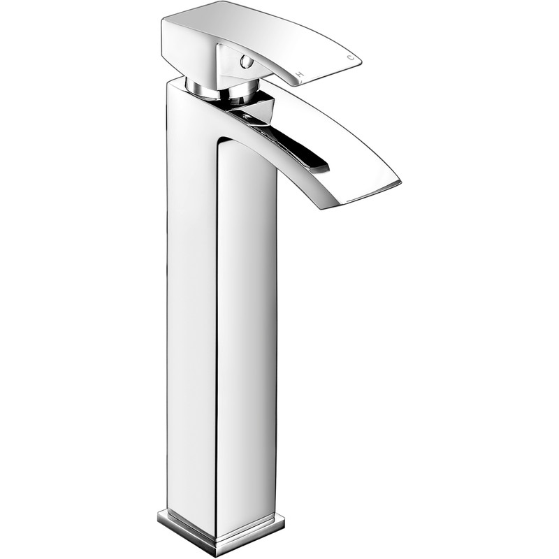 Deva Swoop Tall Mono Basin Mixer Tap