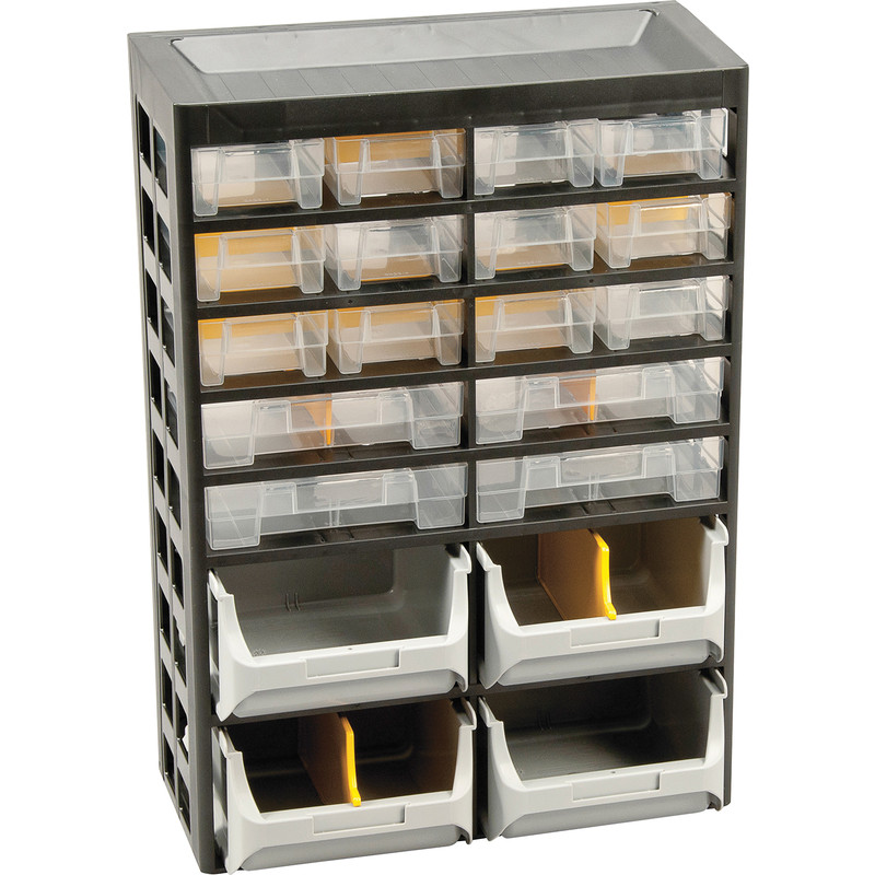 Plastic Small Parts Basic Cabinet