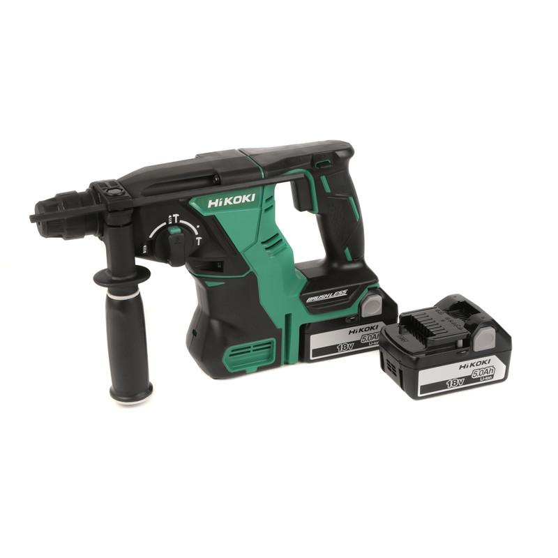 Hikoki 18V Cordless Brushless SDS Plus Hammer Drill