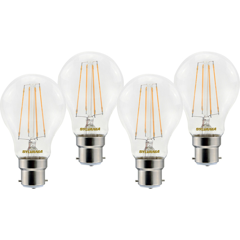 Sylvania LED RT A60 Filament Clear GLS Lamp