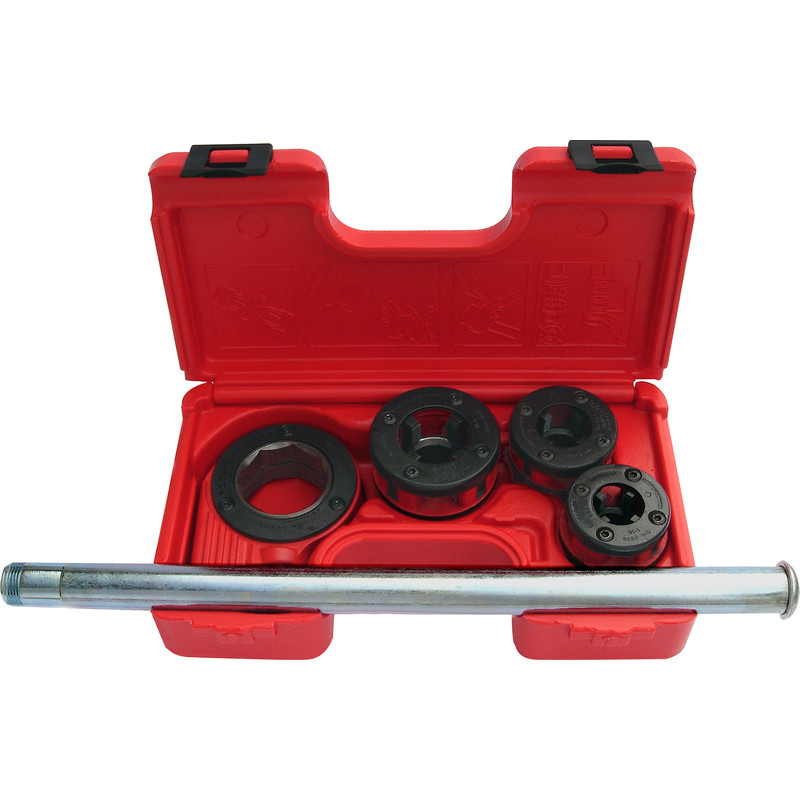 Rothenberger Supercut Ratchet Threader Set