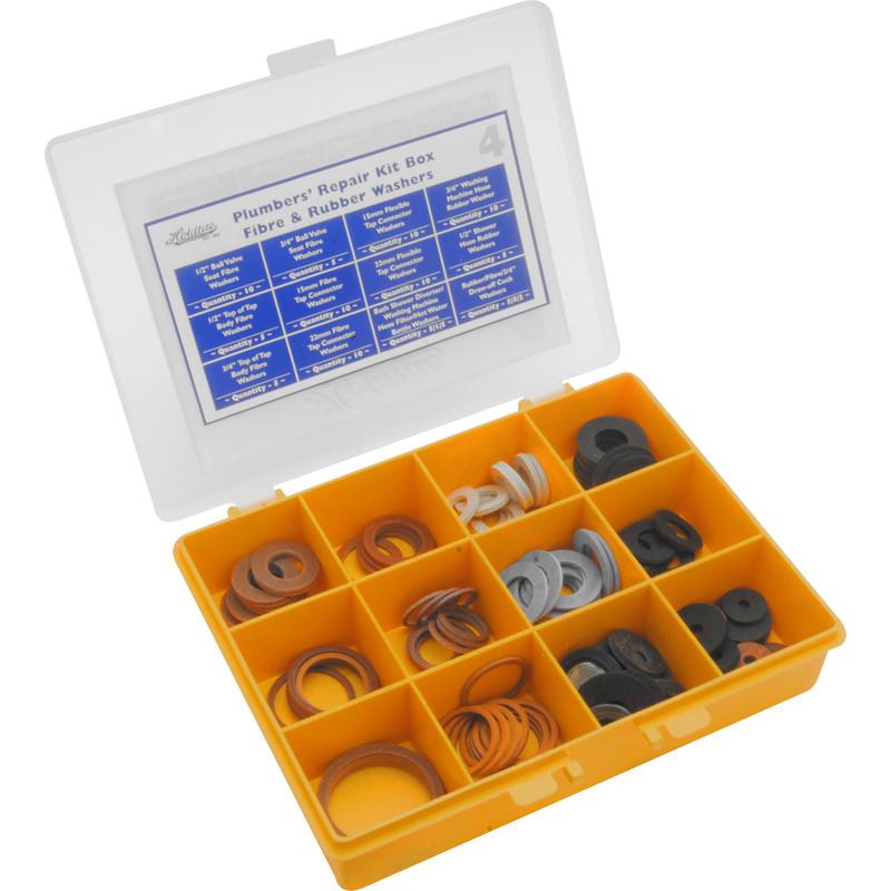 Fibre & Rubber Repair Kit Box