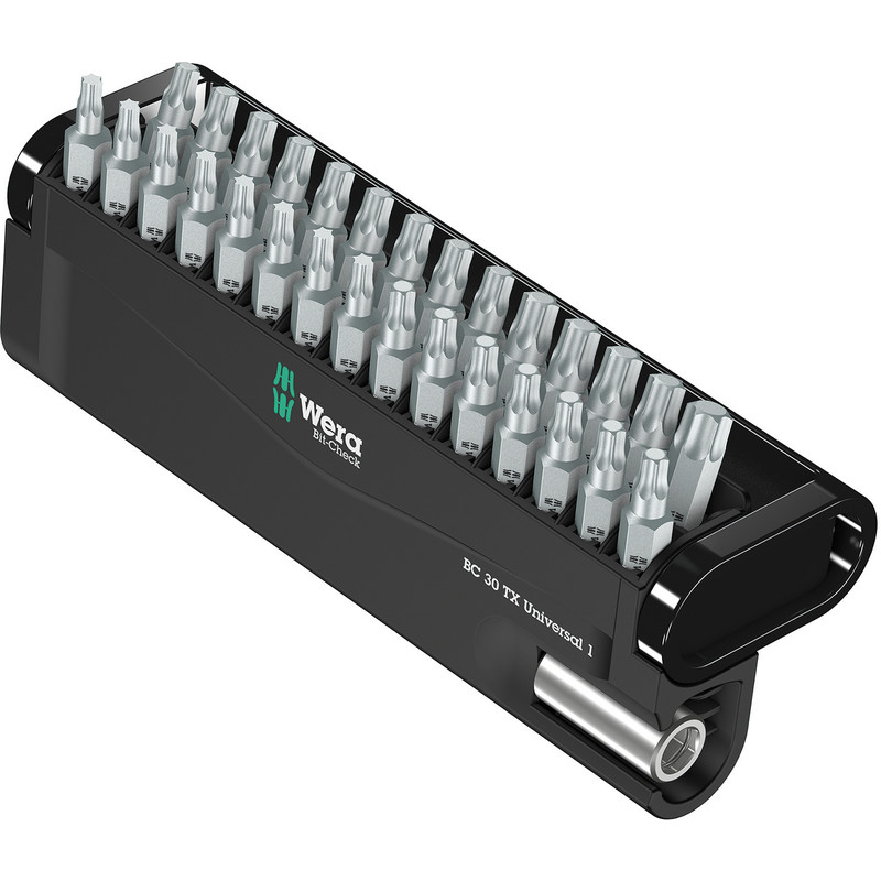 Wera Extra Tough Torx Screwdriver Bit Set