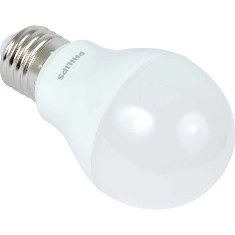 Philips LED A Shape Lamp 8W ES 600lm A+