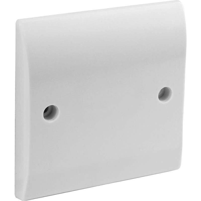Axiom 25A Low Profile Outlet Plate