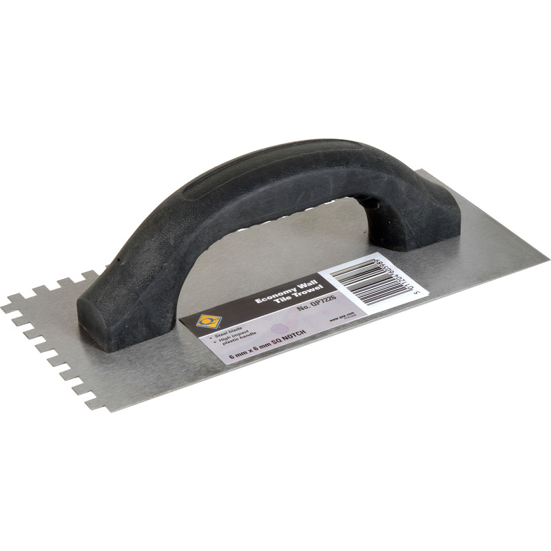 Vitrex Notched Adhesive Trowel Wall 6mm